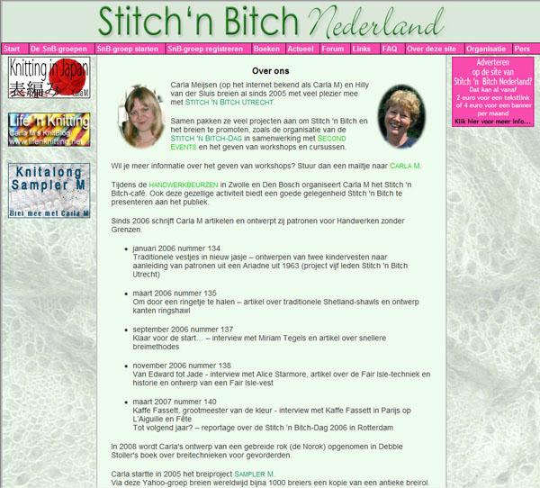 Stitch 'n Bitch Nederland