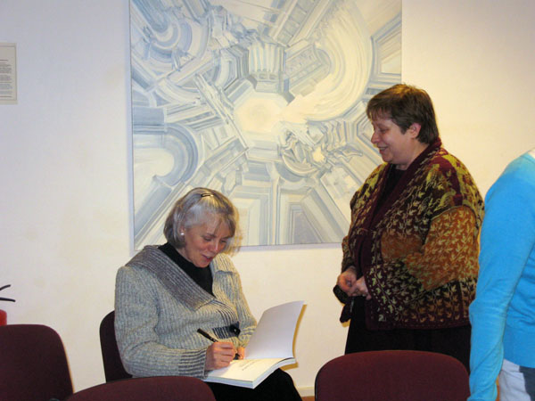 Presentation and booksigning Nancy Marchant
