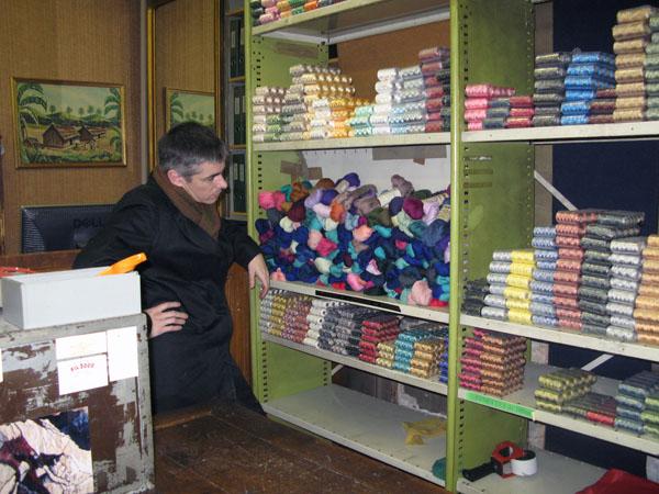 Knitting Holidays Paris 2010 Day 1