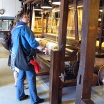 Monika in the Textile Museum